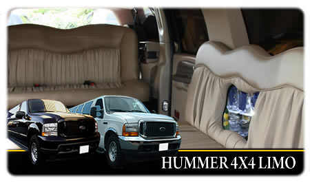 Stretched Hummer Limos For Weddings, Brides, Bridesmaids And Family